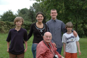 Summer 2007 found Charlie, Daphne, Alban and Alex at La Grée, where Marie-Helene photographed them with her father.