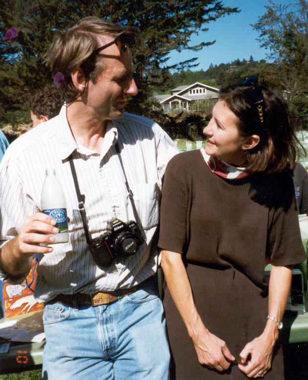 At the Happy Valley School barbecue in October 1999.